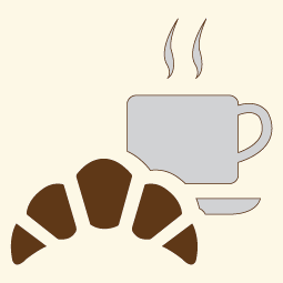 Breakfast buffet icon
